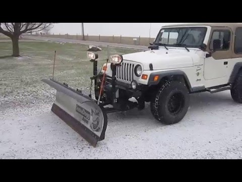 Snow Plow For Sale For Jeep Wrangler