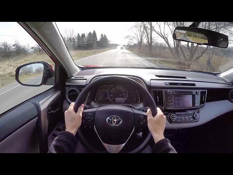 2014 Toyota RAV4 XLE AWD - WR TV POV Test Drive