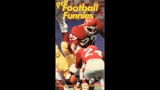 Pro Football Funnies (1987)