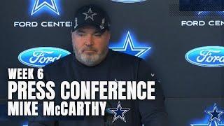Mike McCarthy: Final Prep For NE; Injury Updates   Dallas Cowboys 2021