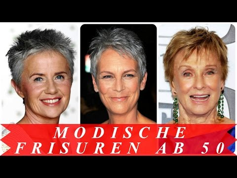 Modische frisuren ab 50