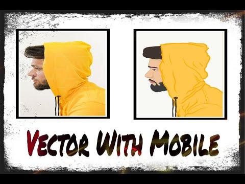 How to make a vector art | Vector art tutorial | Adobe illustrator mobile thumbnail