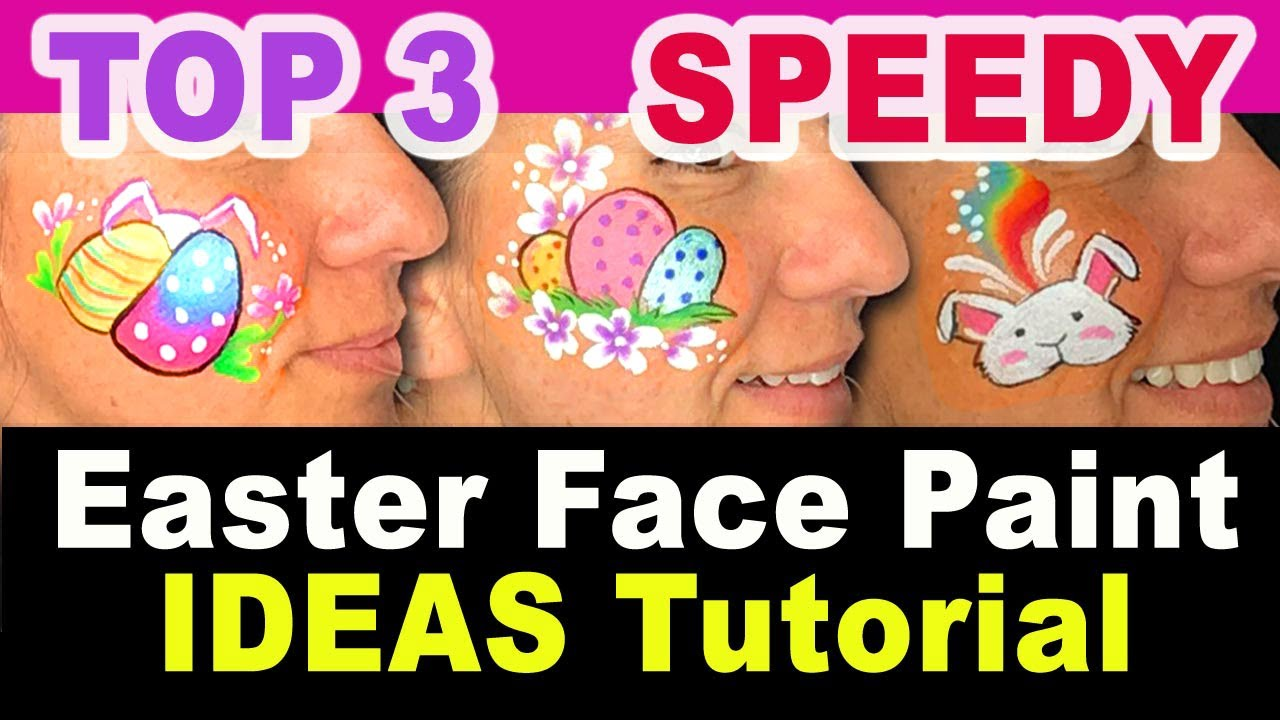 9 Simple Easter Face Paint Ideas To Try At Home