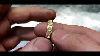루비 묵주 반지 Ruby Rosary Ring