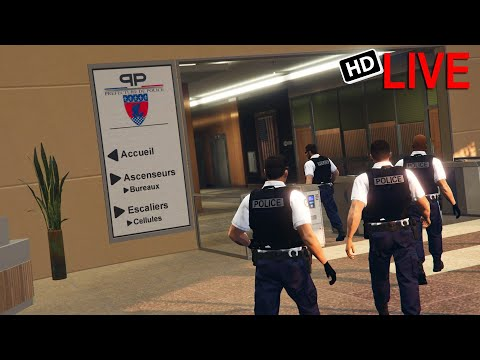 LIVE #1 - POLICE NATIONALE By LOUIS | GTA 5 RP FR