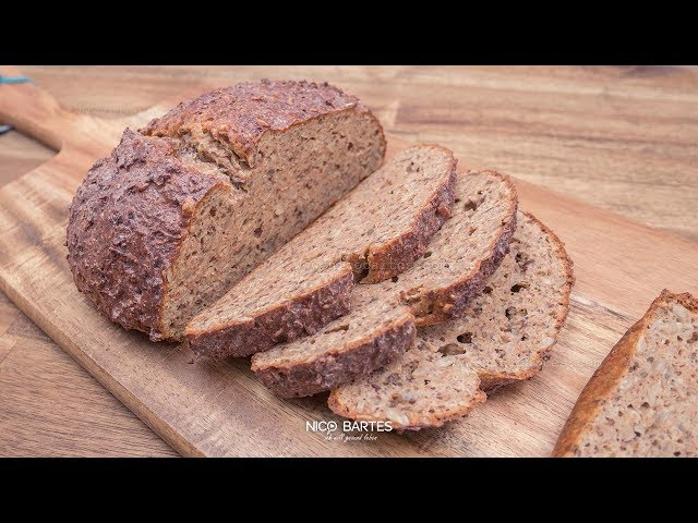 Schnelles Low-Carb Eiweißbrot ohne Kohlenhydrate