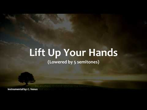 Lift Up Your Hands (lowered - 5) Instrumental