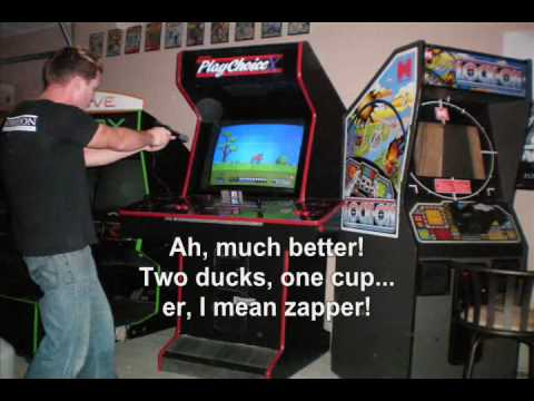 Custom Nintendo Arcade Machine Cabinet - YouTube