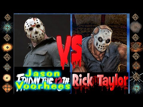 Jason Voorheese (Friday the 13th) vs Rick Taylor (Splatterhouse) - Ultimate Mugen Fight 2015