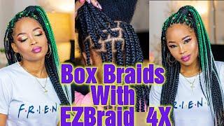 DIY Boxbraids Met EZBraid Quatro 4x