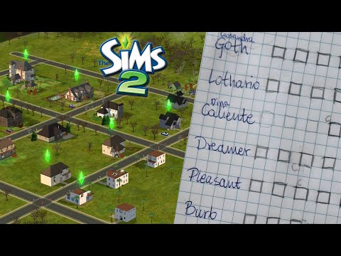 The Sims 2: My Gameplay System