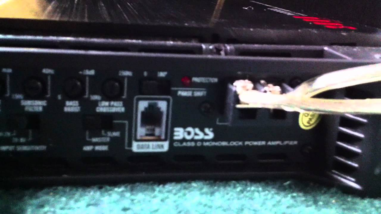 Boss amp hook up