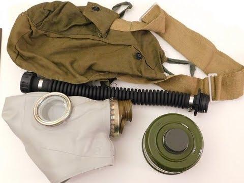 Gas Mask Demo - GP5 Russian NBC Filter & Kit - Safe? - SHTF WROL Prep 4 Urban Collapse