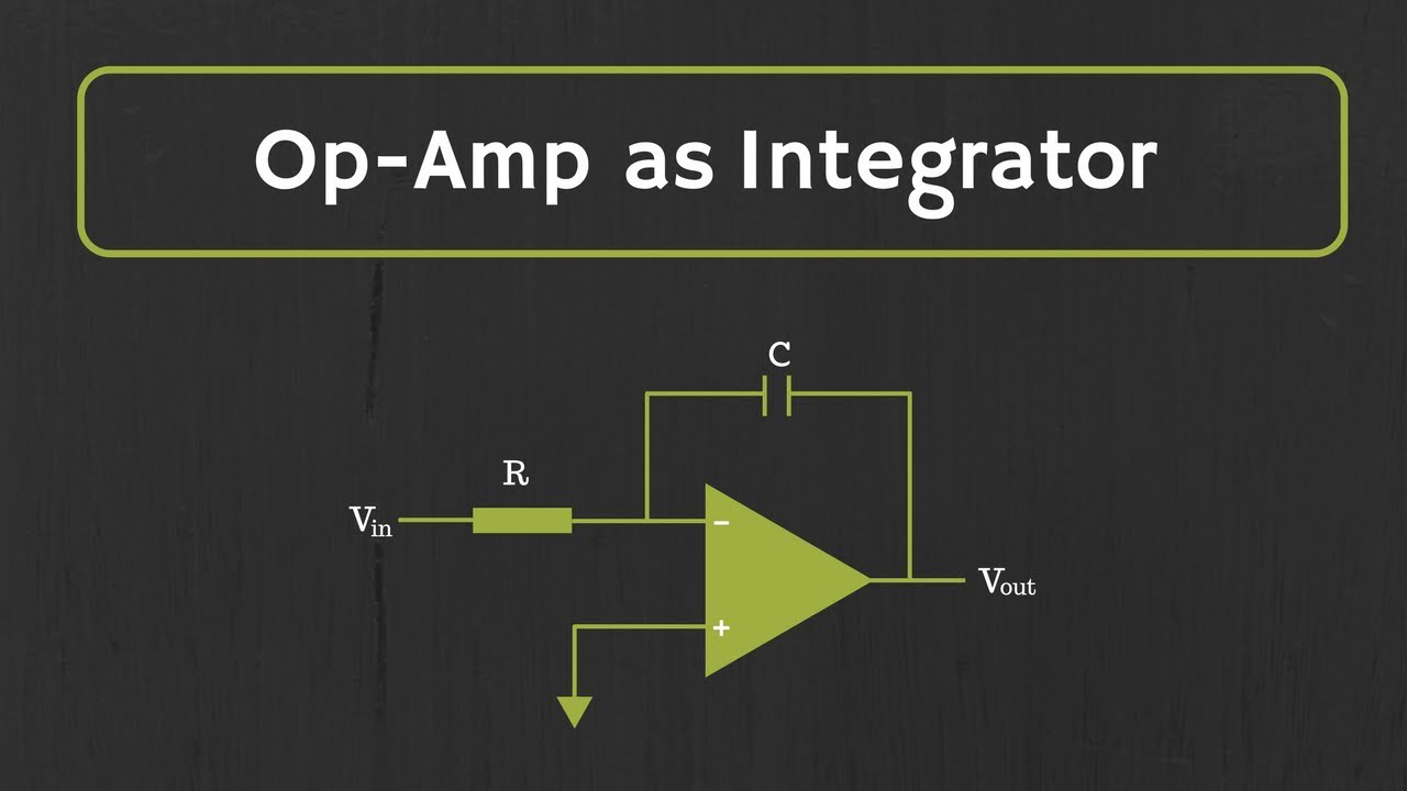 Op-Amp Integrator (with Derivation and Solved Examples)