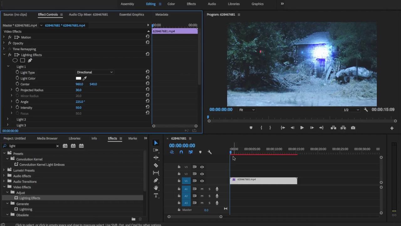 How to lighten dark footage easily - Adobe Premiere Pro CC 2018