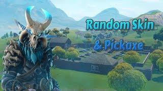 Random Skin - Pickaxe Challenge ft. eMack26 - Wesley Fortnite Battle Royale Faits saillants #3