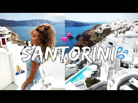 SANTORINI TRAVEL VLOG - ft. DazzlingDrew