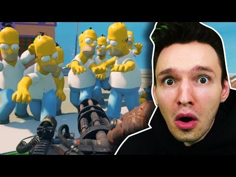 Die SIMPSONS sind ZU ZOMBIES geworden !! - Black Ops 3 Zombies