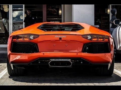 Lamborghini Aventador South Africa (Rev's + Startup)