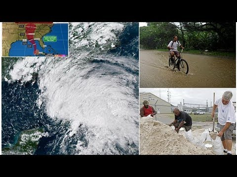 ✪Florida and Mississippi declare states of emergency ahead of Alberto