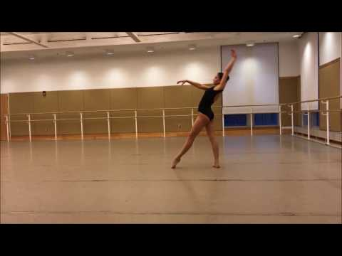 Emily Haughton Lines Trainee program contemporary audition video