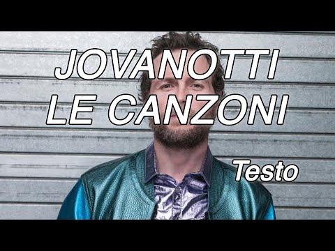 Le Canzoni - Jovanotti (Testo e Musica)