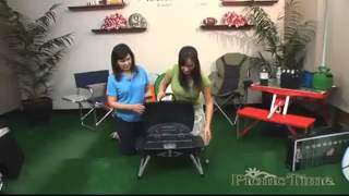 Portable Gas Grill for Tailgate Parties or Camping