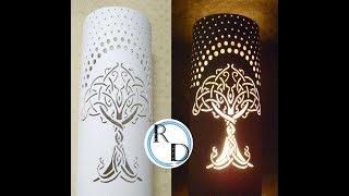 Lámpara PVC Motivo Árbol