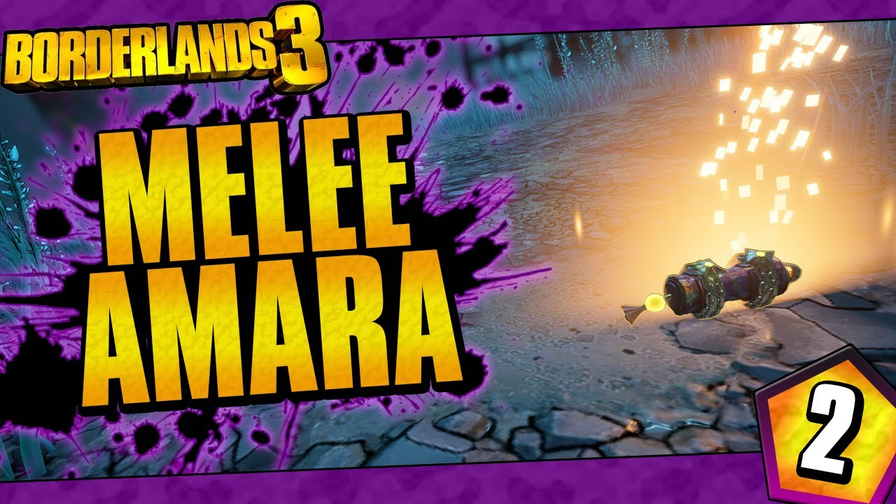 Borderlands 3 | Melee Only Amara Funny Moments And Drops | Day #2 thumbnail