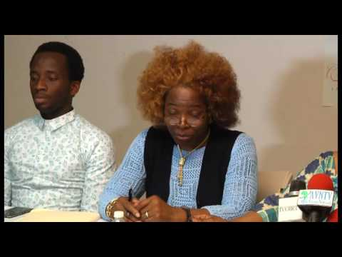 Miss Cote d'Ivoire Usa Canada - Point de Presse -