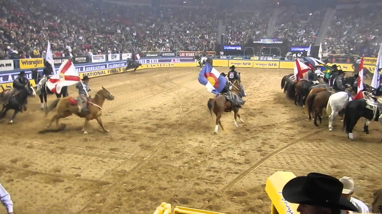 24f011b2 OPENING NIGHT AT THE NATIONAL FINALS RODEO 2015 - YouTube