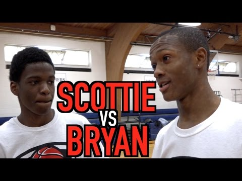 Scottie Lewis & Bryan Antoine FACE OFF in DUNK CONTEST! Open Gym Highlights