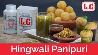 Hingwali Pani Puri | Indian Street Food Recipes | हींग वाला पानीपूरी |#LGHing| Chef Harpal Singh |