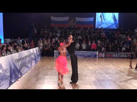 ANDREY GUSEV & ELIZAVETA CHEREVICHNAYA - IDSF INTERNATIONAL OPEN LATIN IN MOSCOW 2011 - THE FINAL