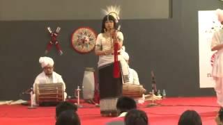 Manipuri Folk Songs by Mangka, World Book Fair 18th Feb 2015