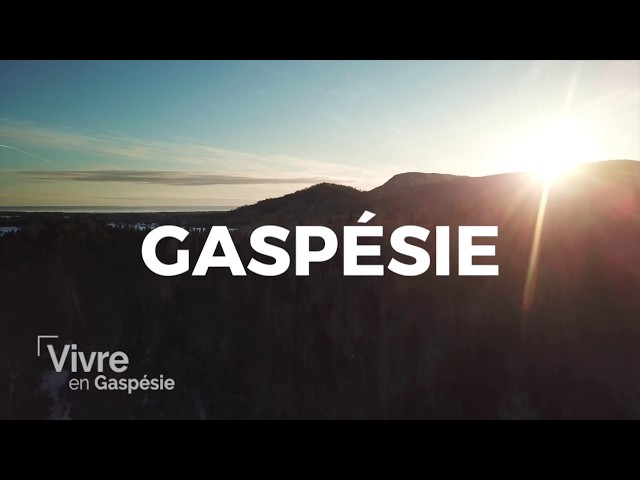 Vivre en Gaspésie - Coup marketing