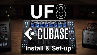 UF8 Cubase Install & set-up