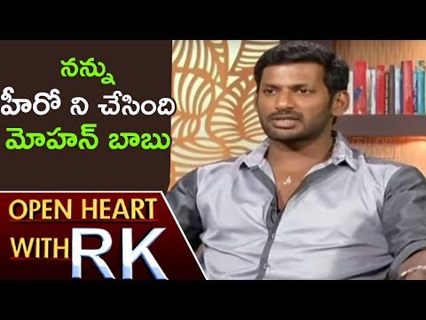 Actor Vishal Reveals About His Entry Into Film Industry   Open Heart With RK   ABN Telugu