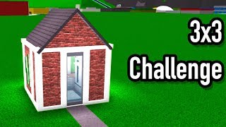 3x3 Challenge! Roblox - BloxBurg (14k)