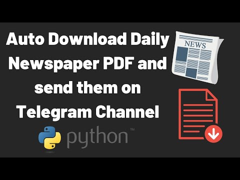 Downloading PDF Files Using Python From Any Website