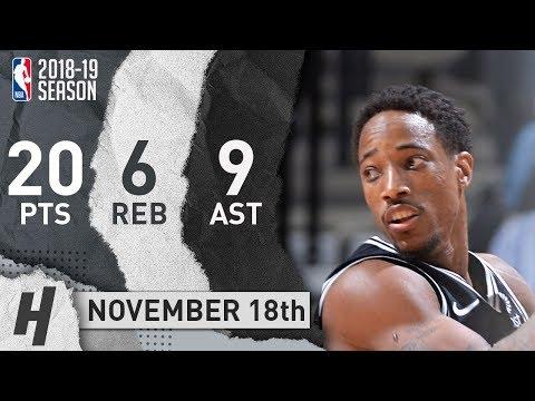 DeMar DeRozan Full Highlights Spurs vs...