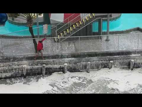 Sea level rising in Myrtle Beach (Sept 11, 2017)
