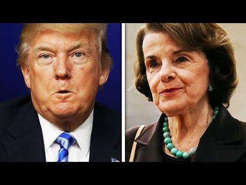 "Trump Blasts ""Sneaky Dianne Feinstein"""