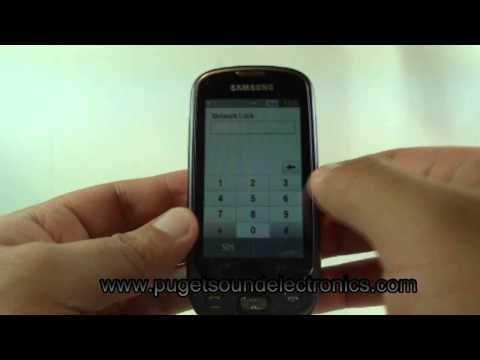 How to unlock T-Mobile Samsung SGH-T749 Highlight