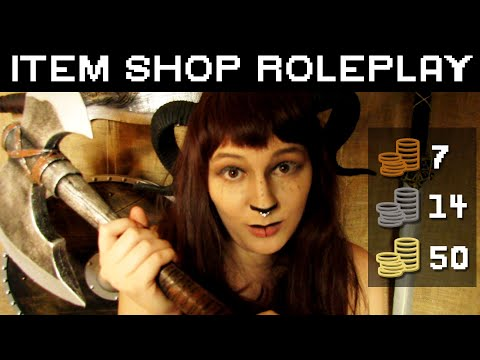 ASMR | Deirdre's Item Shop (Tingle Quest) | British Accent | RPG Roleplay | So Many Layered Triggers
