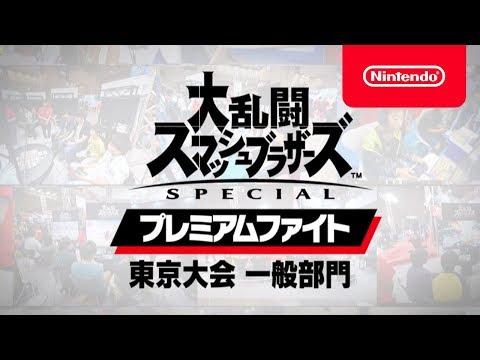 大乱闘スマッシュブラザーズ SPECIAL プレミアムファイト 東京大会 一般部門(準々決勝~決勝)[Nintendo Live 2018]