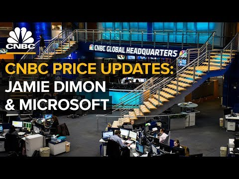 CNBC live price updates: Jamie Dimon, markets and Microsoft's new initiative | CNBC