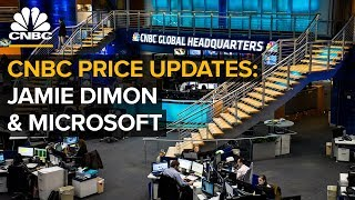 CNBC price updates: Jamie Dimon, markets and Microsoft's new initiative - (9/24/2018)
