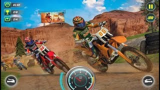 Xtreme Dirt Bike Racing Off-Road Motorcycle Games - Android Gameplay FHD