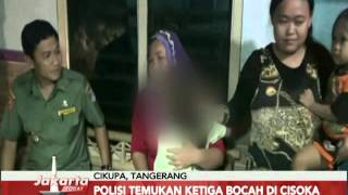 Dibawa wanita tak dikenal, 3 bocah SD asal Tangerang kembali pada keluarga - Jakarta Today 16/02